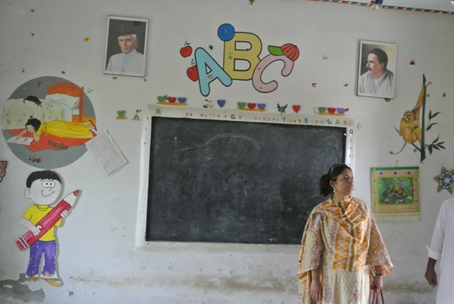 Expansion of Government Boys Middle School in Sadhoki Village
